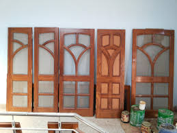Latest Bedroom Door Designs by Mesh Doors Design In Wood Gharexpert Arafen