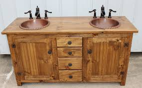 Rustic Bathroom Cabinets Vanities - rustic farmhouse vanity double bathroom vanity fh1296 60d