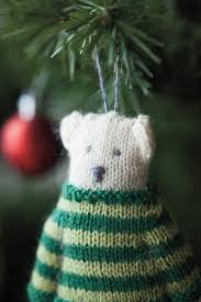 arctic attire ornaments knitting patterns and crochet patterns