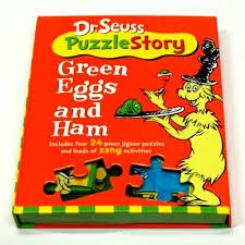 dr suess puzzle story green eggs and ham poshinate kiddos