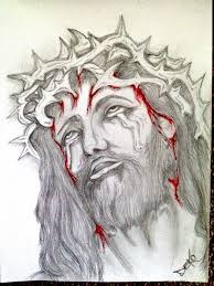 jesus head tattoo sketch pictures to pin on pinterest tattooskid