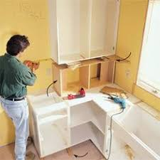 diy installing kitchen cabinets face frame cabinet building tips plywood doors and kitchens
