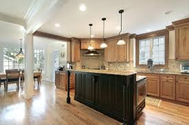 Kitchen Cabinet Island Ideas Oak Wood Cool Mint Madison Door Kitchen Center Island Ideas Sink