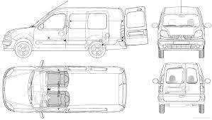 renault van kangoo the blueprints com blueprints u003e cars u003e renault u003e renault kangoo