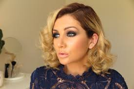 glam formal or race day hairstyle tutorial oz beauty expert