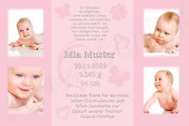 sprüche danksagung geburt 50 foto danksagung karte geburt baby danksagungskarten ebay