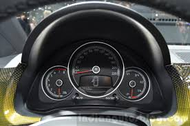 volkswagen up 2016 2016 vw up facelift instrument cluster at the 2016 geneva motor