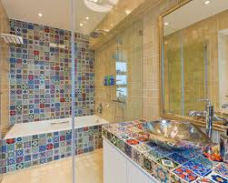 mexican tile bathroom ideas bold ideas mexican tile bathroom ideas sinks and vanities just