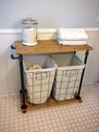 Bathroom Laundry Storage Diy Laundry Cart Sb Designs Laundry Room Renovation Ideas
