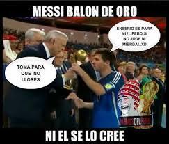 Memes Sobre Messi - 10 memes sobre messi y su bal祿n de oro en brasil ecolistas