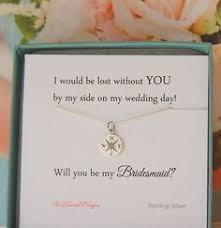 invitation for bridesmaid bridesmaid gift of honor of honor gift bridesmaid