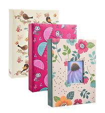 photo album 5x7 pockets tallon 5x7 designer photo album with 200 pockets ebay