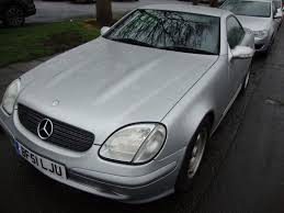 2001 mercedes slk 200 kompressor 6 speed manual reduced to 1995