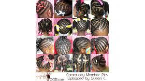 braid hairstyles for black kids natural black hair