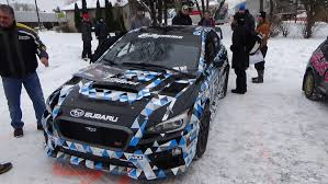 subaru rally car david higgins new 2015 subaru wrx sti rally car the baddest