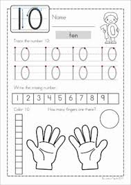 number concepts 1 20 worksheets by lavinia pop tpt