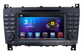 mercedes gps navigation system oem 7 inch dual android 4 2 autoradio gps navigation
