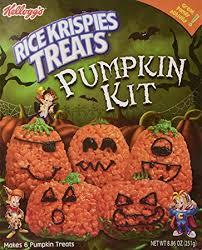 rice crispy treat pumpkins rice krispies treats pumpkin kit crafty cooking kits