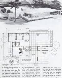 Mid Century Modern House Plan 244 Best House Plans Images On Pinterest Modern House Plans