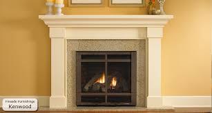 Wood Fireplace Surround Kits by Fireplace Mantels U0026 Surrounds Seattle U0026 Portland Fireside