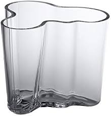 Iittala Aalto Vase Amazon Com Iittala Aalto Vase Clear Large Home U0026 Kitchen