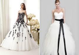 robe de mari e noir et blanc décoration d un mariage noir et blanc
