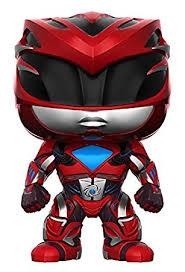 amazon funko pop movies power rangers red ranger toy figure
