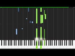 tutorial piano canon pachelbell canon in d piano tutorial synthesia sheets midi