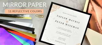 wedding invitations paper cards pockets diy wedding invitation supplies