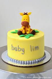 baby shower giraffe i heart baking giraffe baby shower cake