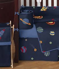 Rocket Ship Crib Bedding Rocket Ship Space Galaxy Baby Bedding 9pc Crib Set Crib Sets