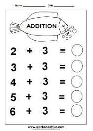 kindergarten work sheets addition facts 8 worksheets http www worksheetfun 2013 03