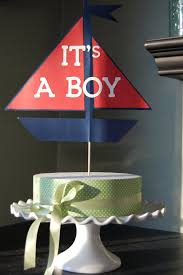sailboat cake topper its a boy sailboat cake topper nautical baby shower nautical