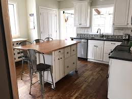 snow white milk paint kitchen cabinets kitchen cabinet makeover custom mix of antique and snow