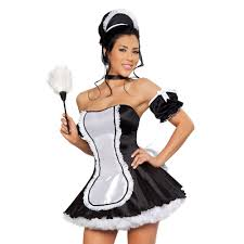 French Maid Halloween Costumes Maid Costume Costumes Fc
