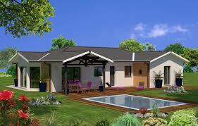 plan maison en u ouvert modèles de maisons maisons lara