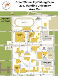 University Of Wisconsin Campus Map by 2017 Expo Schedule U2013 Great Waters Fly Fishing Expo
