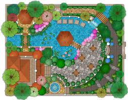 Simple Landscape Design by Interesting Landscape Design Simply Simple Landscape Design Plans