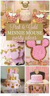minnie mouse party ideas pink gold minnie party ideas party ideas