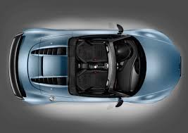 Audi R8 Gt Spyder - 2012 sphere blue audi r8 gt spyder top view eurocar news