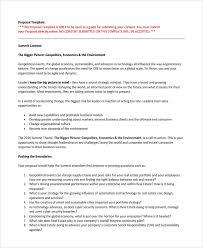 internal business proposal template technology proposal template