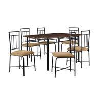 Mainstays Glass Top Desk by Dorel Living Mainstays Glass Top Metal 5 Piece Dinette Black