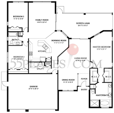 Florida Floor Plans Kent Iii Floorplan 2400 Sq Ft Heritage Pines Florida