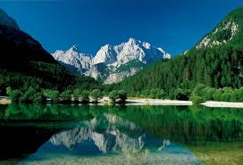 Slovenia Lake Triglav National Park Gorenjska Slovenian Alps Slovenia