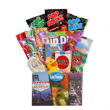 las vegas gift baskets candy gift baskets in las vegas give meeting attendees a tasty