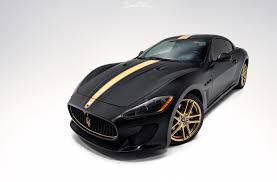 Maserati Gran Turismo Xpel Stealth U0026 Satin Gold Car Wrap