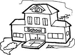 big building coloring page wecoloringpage