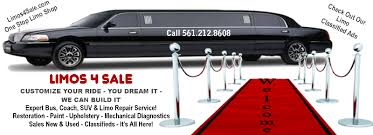 limousines for sale limo sales limousines and busses for sale new and used buy or sell