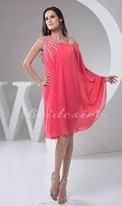 a linie herzausschnitt knielang chiffon brautjungfernkleid mit gestupft p551 bridesire übergrößen brautmutterkleider in übergrößen
