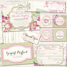 Shabby Chic Wedding Shower by Bridal Shower Shabby Chic Party Pack Vintage Inspired Paris